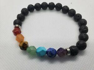 7 Chakra Healing Balance Beads Buddha Bless Lose Weight Bracelet Natural