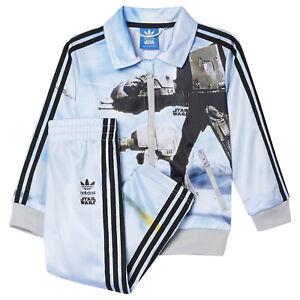 Details about Adidas Originals Star Wars Children Firebird Set Suit ATAT Jacket + Pants AB1847 show original title
