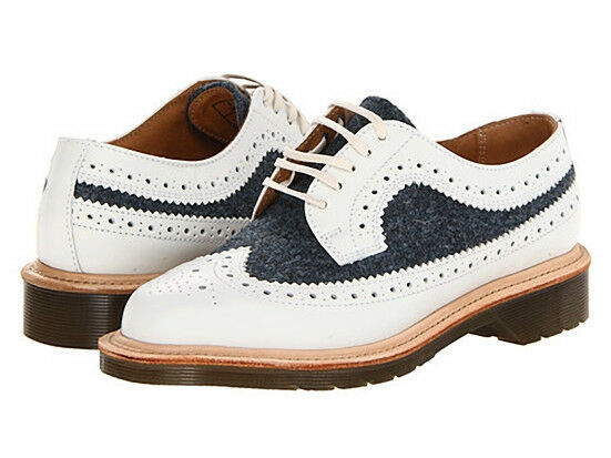 Dr. Martens Damens`s 3989 MIE Weiß 10 Blau Brogue US 10 Weiß EU 42 UK 8 Retail 320 b47566