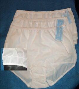 3 Pair Size 13 Dixie Belle Pastel Color Nylon Womens Scalloped Leg Panty 719 USA