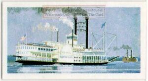 Mississippi-River-Paddle-Wheel-Steam-Ship-Vintage-Trade-Ad-Card