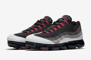 1c38cd58590 Nike Air VaporMax 95 AJ7292-101  Hot Red  Men s Shoe sz 5-13