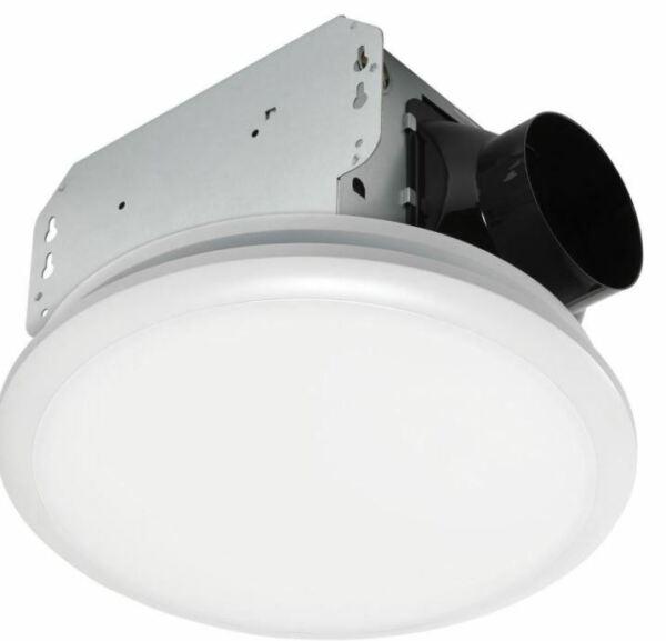 80 Cfm Ceiling No Cut Installation, Menards Bathroom Light Fan