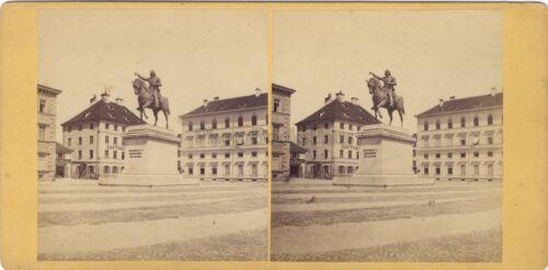 München-München Deutschland Deutschland Foto Stereo Vintage Albumin ca 1865