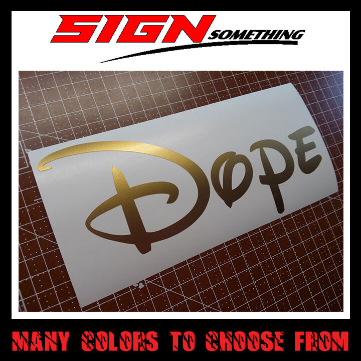 Vinyl Dope Disney Mickey Sticker Decal Mickey Mouse
