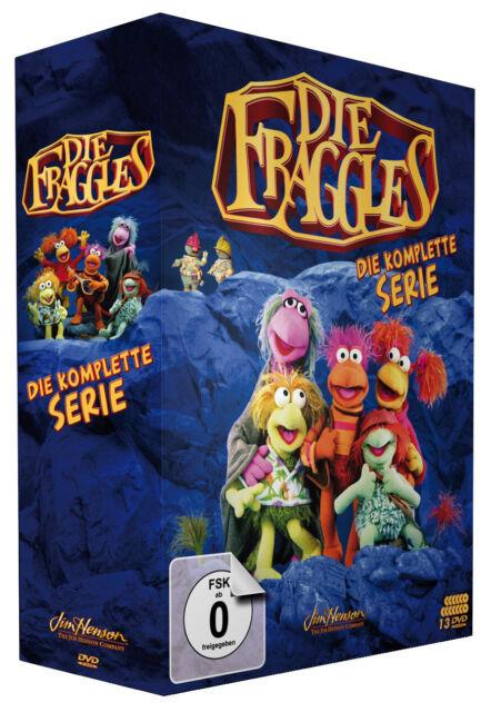 Die Fraggles Die Komplette Serie Staffeln 1 5 13 Dvds 2018