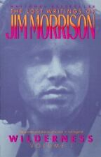 WILDERNESS by Jim Morrison FREE SHIPPING paperback book volume 1 the doors lost