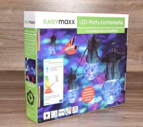 LED LICHTERKETTE 5x7 LEDs IP44 INNEN und AUßEN GARTEN 7,5 m von EASYMAXX NEU *
