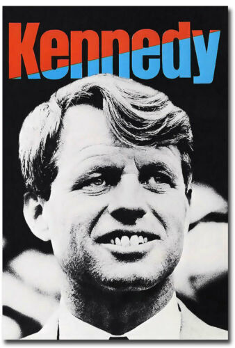 "Robert Kennedy presidential campaign Fridge Magnet Size 2.5/"" x 3.5/"""