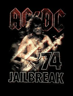 AC/DC cd cvr Angus '74 JAILBREAK Official SHIRT XL New dirty deeds high voltage