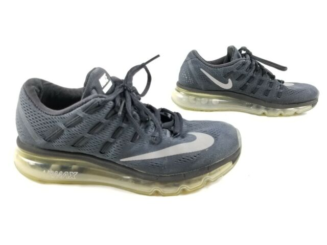 Nike Air Max 2016 Black White Ice Sole Running Shoes 806772 001 Women Size 10