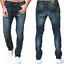 Nudie-Herren-Slim-Fit-Roehren-Stretch-Jeans-Hose-Blau-Lean-Dean-Peel-Blue Indexbild 1