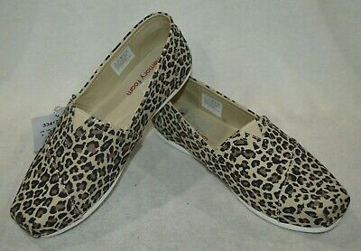 Skechers Bobs Plush Women/'s Hot Spotted Leopard Slip On Flats-Sz 6.5//8.5//9.5 NWB