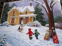 500 Piece John Sloane Art Puzzle call For Cocoa New16x 20
