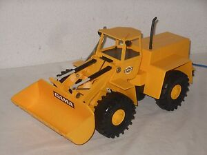 Gama - Mf Massey Fergusson / Hanomag Big Chargeuse 42 Cm Toy Allemagne
