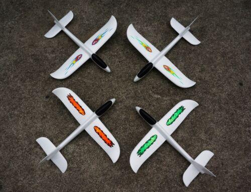 EPP Foam Far Distance main throw Lancer planeur avion Gift Kids Toy US STOCK