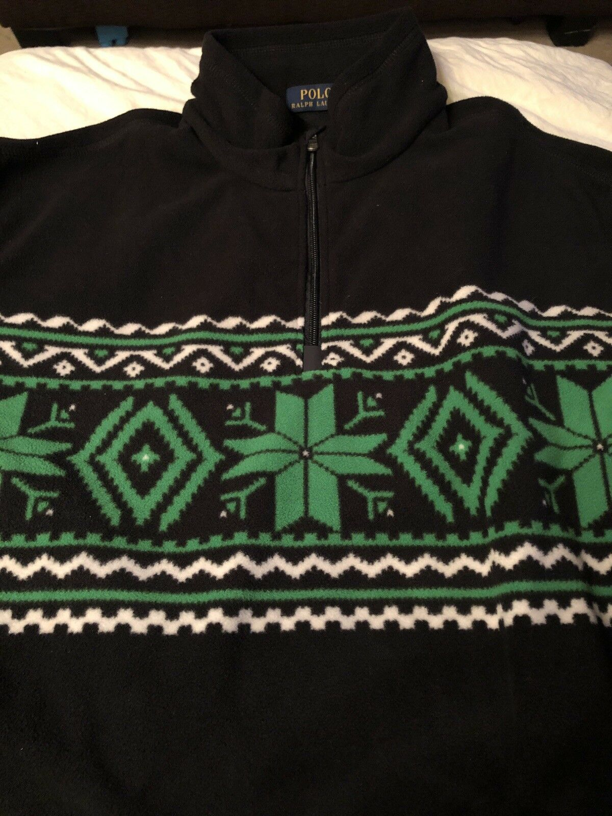 Polo Ralph Lauren Half Zip Fleece Pullover Christmas Holiday Winter 2XL XXL 202
