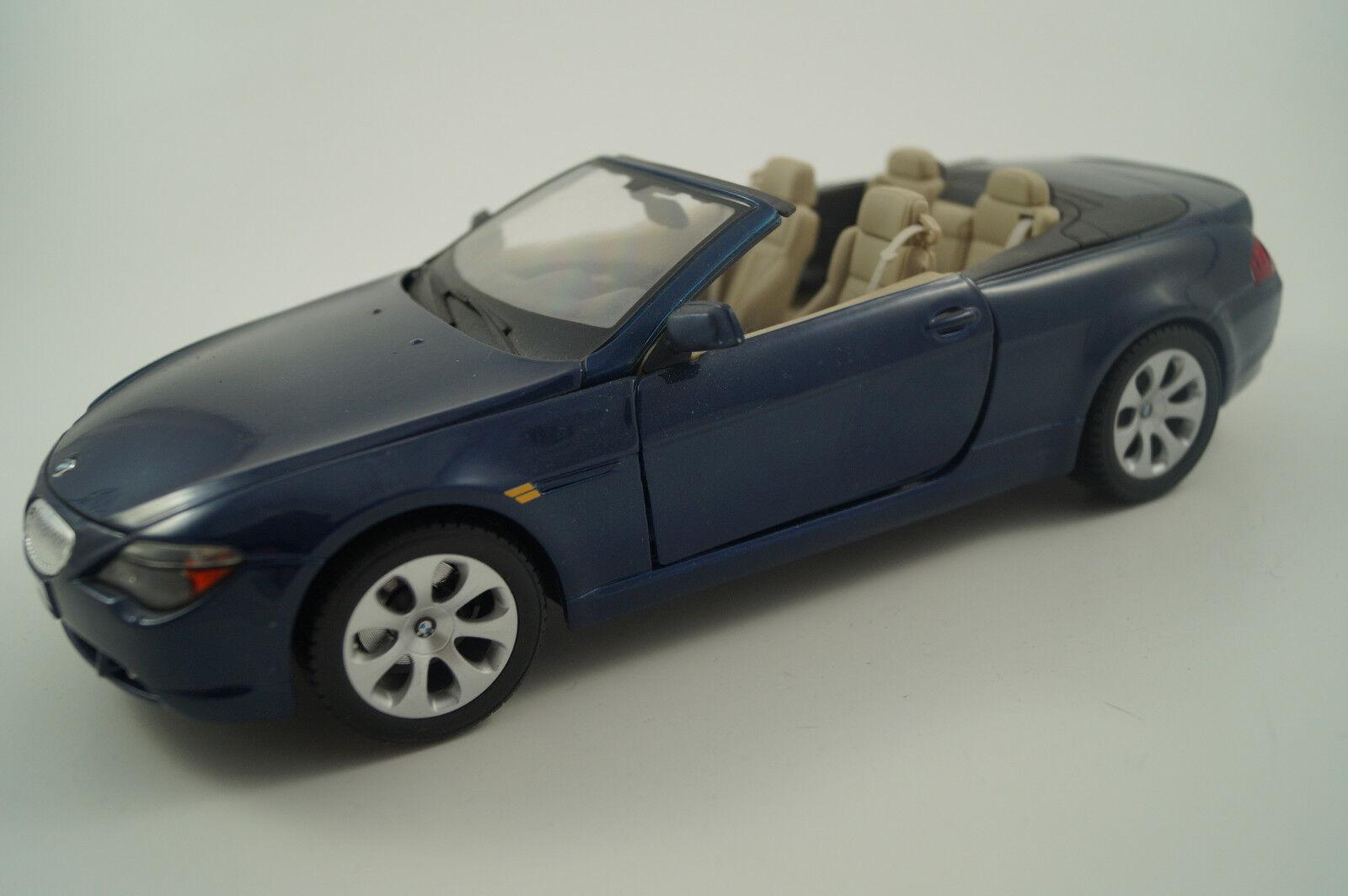 Maisto Modellauto 1 18 BMW 645 Ci  | Bekannt für seine gute Qualität