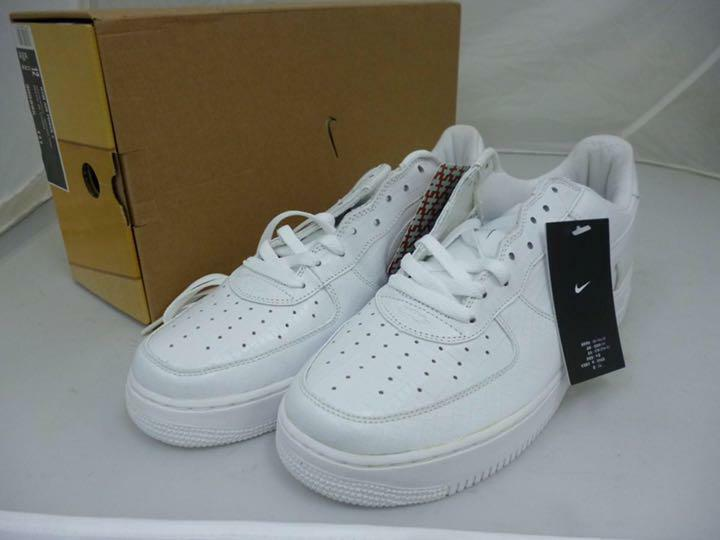 NIKE HTM AIR FORCE 1 SNEAKERS CASUAL SHOES MEN WHITE 3012 LIMITED NEW 28.5 10.5