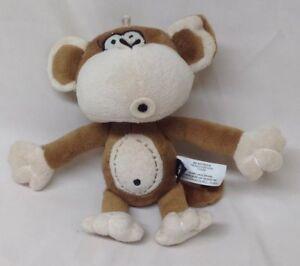 Bobby Jack The Cute Monkey 8 Plush Stuffed Animal Toy Hb5 Ebay