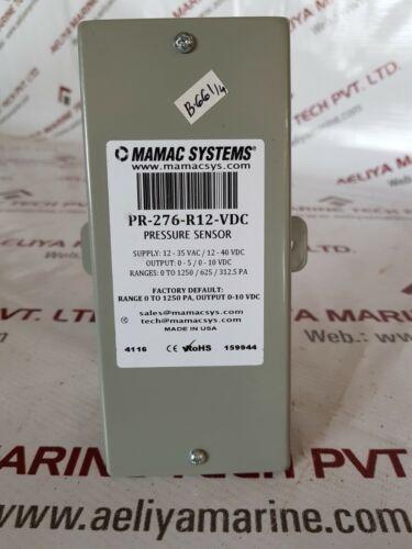 Mamac pr-276-r12-vdc pressure sensor
