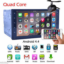 2Din Android 6.0 In Dash Car Stereo GPS Navi WIFI -3G BT Quad Core 7'' Radio+CAM