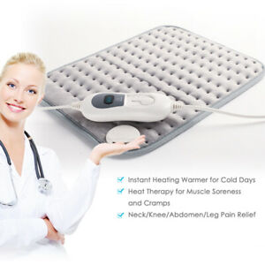 Micro-Plush-Electric-Heating-Pad-220-240v-100w-40x30cm-Waist-Back-Pain-Relief