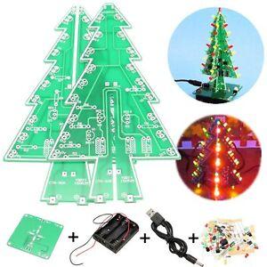 Christmas Tree LED Flashing Light DIY Kit Circuit Board ...