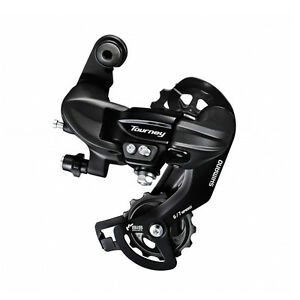 New-Shimano-Tourney-RD-TY300-Direct-Mount-Rear-Derailleur-6-7-Speed-Black