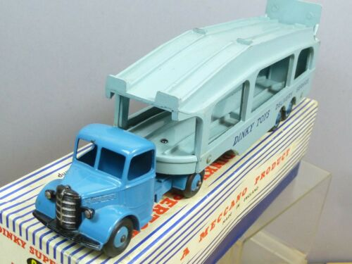 Transporteur de voiture de Pullmore de modèle No.982 de jouets avec la rampe de chargement Vn Mib