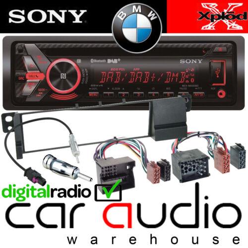 BMW E46 3 Series Sony DAB Bluetooth CD MP3 USB Car Stereo /& Complete Fitting Kit