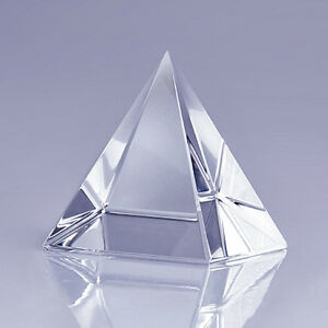 High-Quality-Clear-Crystal-Pyramid-2-3-034-with-Gift-Box