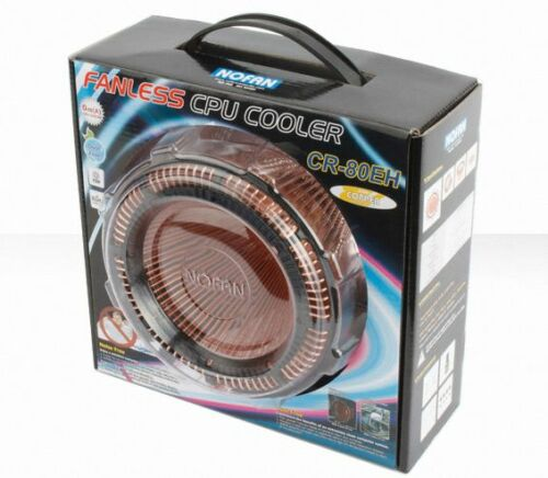 NEW GG585 NofanㅇCopper IcePipe 80W Fanless CPU Cooler