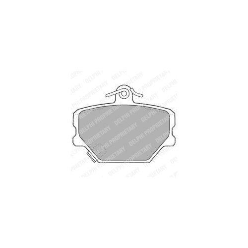 Scheibenbremse  Links für Smart Fortwo Coupe Cabrio DELPHI Bremsbelagsatz