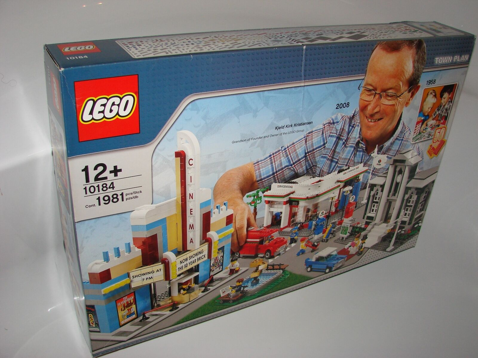 LEGO ® Creator Expert 10184 Town Plan NUOVO OVP NEW MISB NRFB