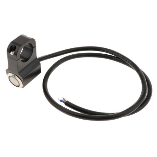 Motorcycle Fog Spot Light Stainless Steel ON//OFF Switch Waterproof Quality