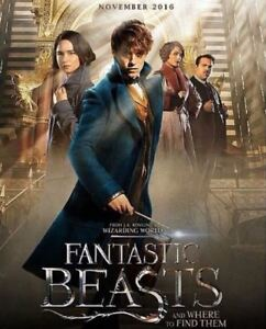 Fantastic-Beasts-And-Where-To-Find-Them-35mm-Film-Cell-strip-very-Rare-var-q