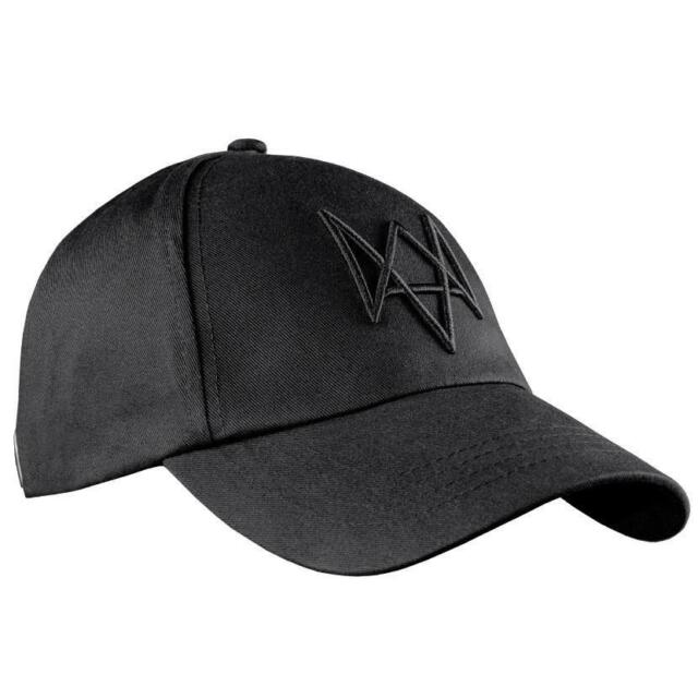 Watch Dogs Aiden Pearce Black Adjustable Cap Hat Cosplay Accessory