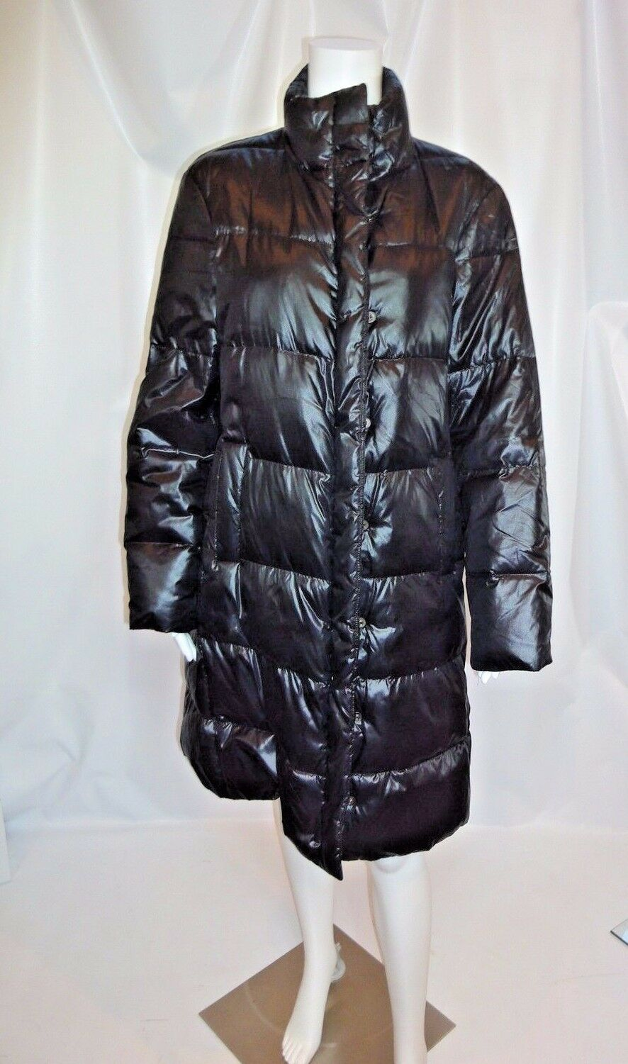 STRENESSE GABRIELE STREHLE Brown Quilted Parka Coat Sz 6
