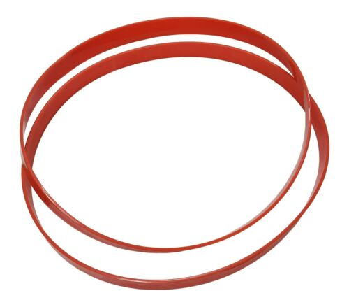 """Band Saw Tires 14/"""" x 1-1//8/"""" x 1//8/"""" made in USA from Quality Urethane set of 2"""