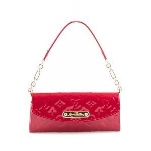 52f1d198b22d Louis Vuitton Red Patent Leather  Sunset Boulevard  Monogram Vernis ...