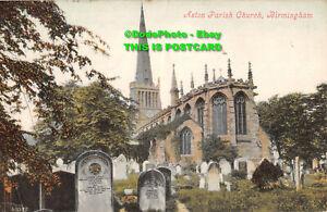 R400384 Aston Parish Church. Birmingham. Valentines Series. 1906
