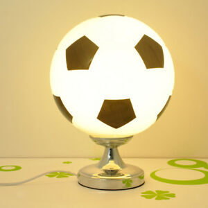 Lampe-de-Table-LED-Forme-de-Football-de-Chevet-Lumiere-Decoration-Chambre
