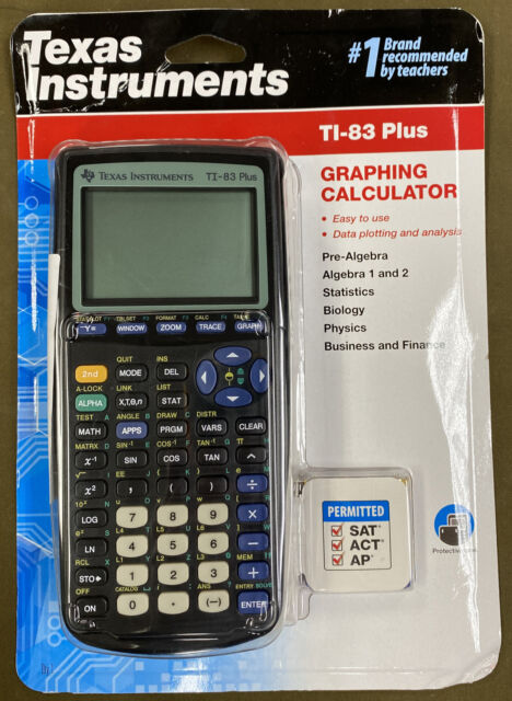 Texas Instruments TI-83 Plus - Graphing Calculator....NEW!!....FREE S&H!!