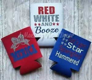 Collectibles 4th Of July Coolie Cups