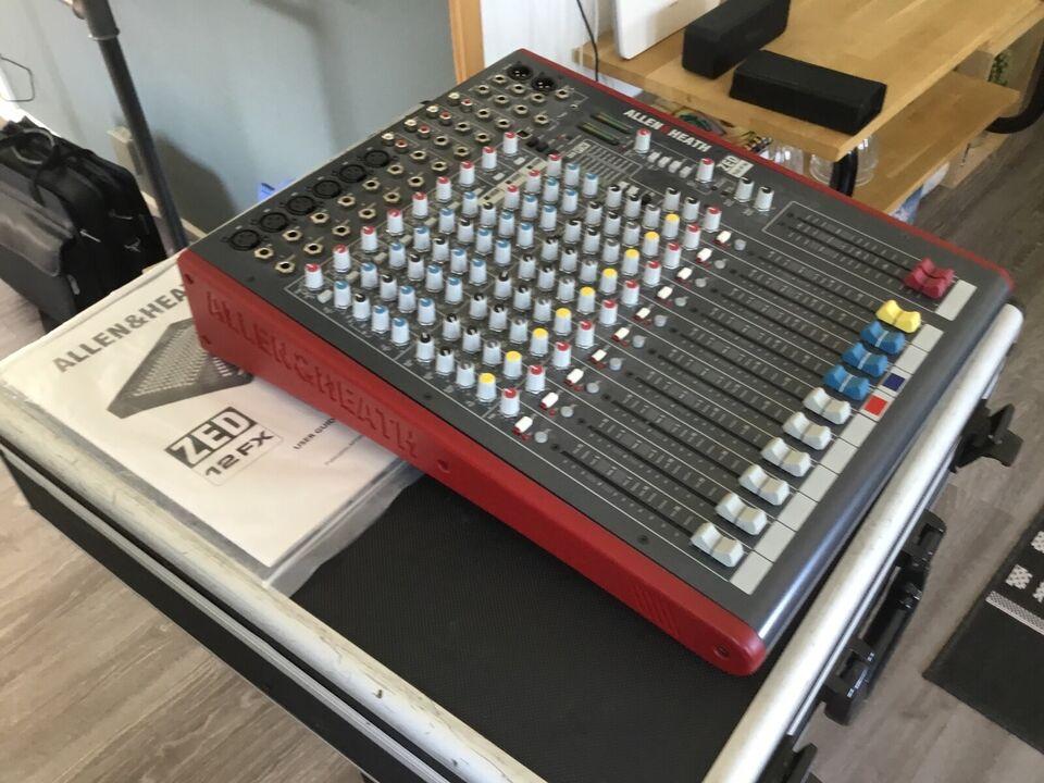 Allen & heath, Mixer ZED 12 FX
