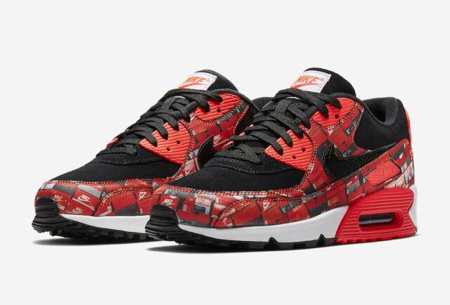 Nike Air Max 90 Premium Bright Crimson 700155 604