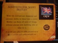 Pirates of the Barbary Coast #212 Administrator Scott Bratley Pocketmodel MINT