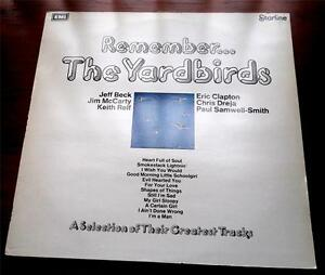 Remember-The-Yardbirds-1971-Starline-EMI-SRS5069-Stereo-Rock-UK-IMPT-NM