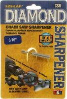 Eze-lap Diamond Threaded Shank Chain Saw Sharpener Grinding Stone 3/16 Csr316